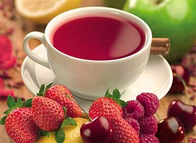 chá na gestação