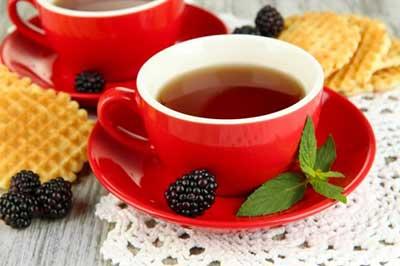 um delicioso chá