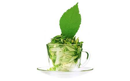 chá verde tem?