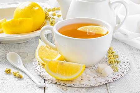 com limão