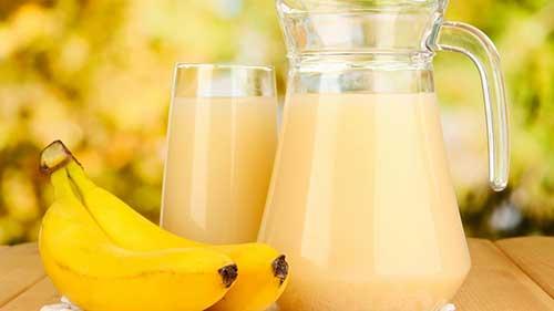 receita do Chá de Banana